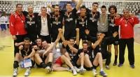 CVM Tomis Constan?a - Dinamo Bucure?ti 2:3 (29.04.2011, Divizia A1 masculin, play-off, finala locurilor 3-4, meciul 4); sursa foto: Cotidianul Telegraf (Constan?a)