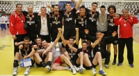 CVM Tomis Constan?a - Dinamo Bucure?ti 2:3 (29.04.2011, Divizia A1 masculin, play-off, finala locurilor 3-4, meciul 4); sursa foto: Cotidianul Telegraf (Constan?a) - 14