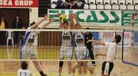 CVM Tomis Constan?a - Universitatea Cluj 3:0 (19.03.2011, Divizia A1 masculin, play-off, meciul 1); sursa foto: Cotidianul Telegraf (Constan?a) - 12