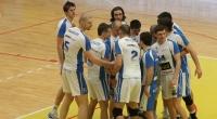 CVM Tomis Constan?a - Universitatea Cluj 3:0 (19.03.2011, Divizia A1 masculin, play-off, meciul 1); sursa foto: Cotidianul Telegraf (Constan?a) - 3