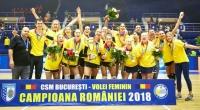 Clasament final în Divizia A1 la volei feminin, ediția 2017-2018